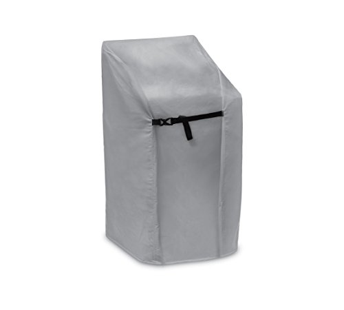 "Protective Covers 1163 Stacking Patio Chair Cover, 28.5"" L X 35.5"" W X 46"" H, Gray"