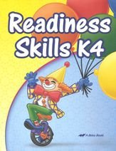 Readiness Skills K4 - 2013 - A Beka, used for sale  Delivered anywhere in USA