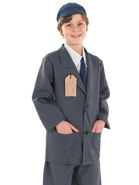 Evacuee Boy Suit - Childrens Fancy Dress Costume