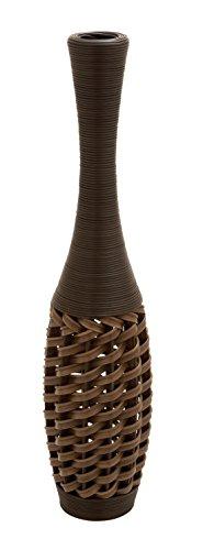 Deco 79 PE Vase, 40 by 9-Inch - Carved Panel Door