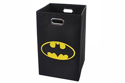 Batman-Logo-Folding-Laundry-Basket-Black