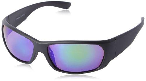 Chili's Men's Baumbach Wrap Sunglasses,Black,64 mm (Chilis Sunglasses compare prices)