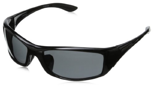 Arsenal Voltage Non-Polarized Rectangular Sunglasses,Shiny Black,58 - Polarized Weight Lightest Sunglasses