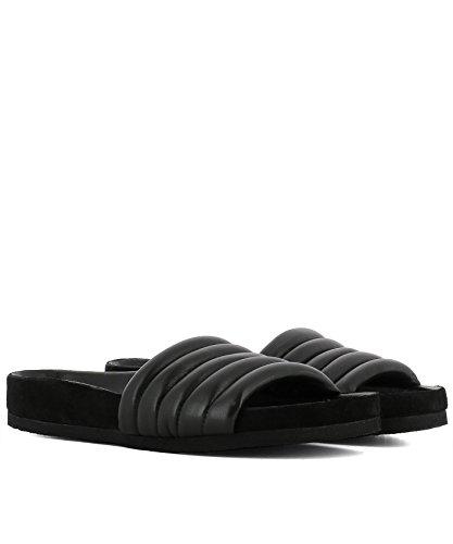 Isabel Marant Women's SD018018P031S01BK Black Leather Sandals kz5UWL