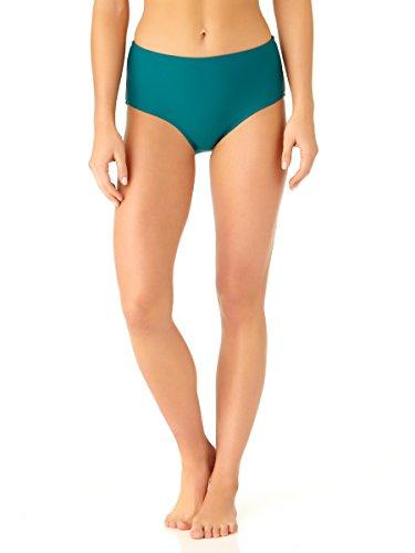 Catalina Women's Teal High Waist Swim (Catalina Bikini)
