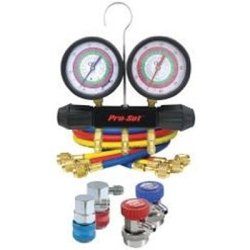 CPS Products CPSMTHFO134 Manifold Gauge Set (Aluminum Block A/C for R134a and HFO1234yf, 72