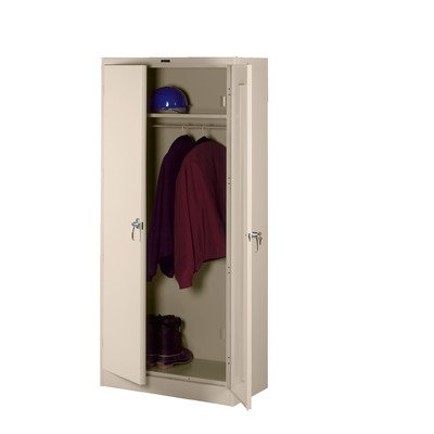 Deluxe 2 Door Storage Cabinet Color: Sand, Doors: Standard