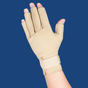 THERMOSKIN ARTHRITIS GLOVES BEIGE SM by ThermaCare