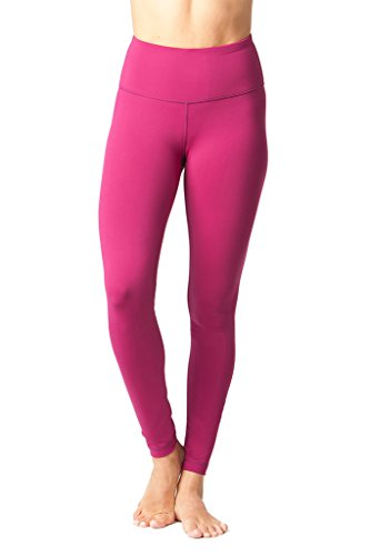 d84371c70e714f Galleon - 90 Degree By Reflex - High Waist Powerflex Legging - Tummy Control  - Magenta Haze - Small