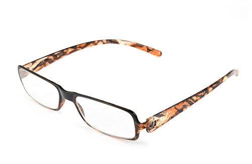 Optx 20/20 SOHO Reading Glasses, Black/Demi, - Eyewear Soho Frames