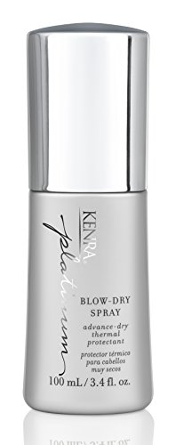 Kenra Thermal Styling Spray (Kenra Platinum Blow-Dry Spray, 3.4-Ounce)