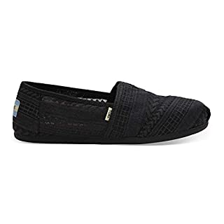 TOMS Women's Black Arrow Embroidered Mesh 10013491 (Size: 8.5) (B07FWL2H42) | Amazon price tracker / tracking, Amazon price history charts, Amazon price watches, Amazon price drop alerts