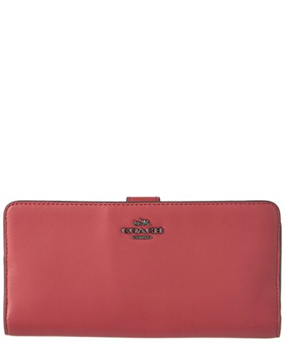 Womens Madison Leather Skinny Wallet