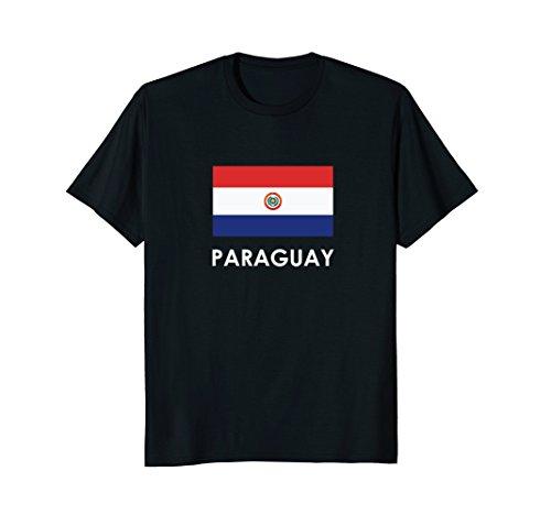 PARAGUAY Flag T Shirt - Paraguay Flag T-shirt