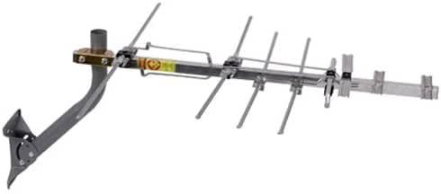 TV Antenna - RCA Outdoor Yagi Satellite HD Antenna with Over 70 Mile Range - Attic or Roof Mount TV Antenna, Long Range Digital OTA Antenna for Clear Reception, 4K 1080P