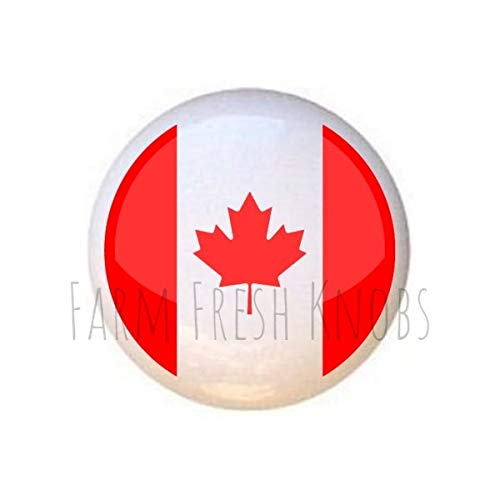 Oh Canada DECORATIVE Drawer Pulls Dresser KNOBS (Canada And Knobs Pulls)
