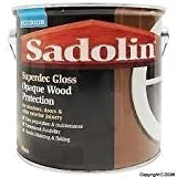 Sadolin Superdec Gloss 5lt Super White by Sadolin