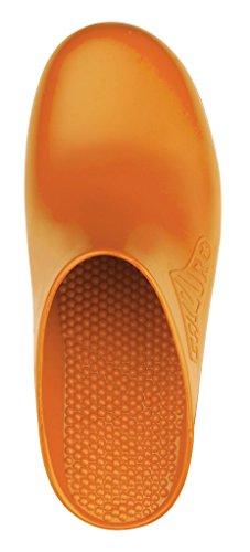 Calzuro Autoclaveerbaar Klomp Zonder Bovenste Ventilatie Oranje