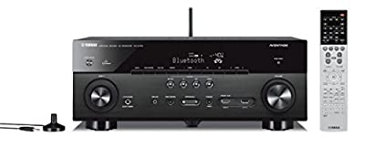 Yamaha RX-A750 7.2-Channel MusicCast AV Receiver with Built-In Wi-Fi and Bluetooth (Black)
