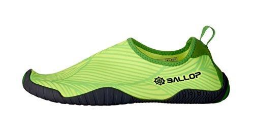 BP908 BALLOP Barfuß Beach Fitness Wassersport Segel Yoga Sport Strand Schuhe Leaf Green Green
