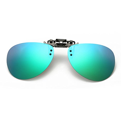 LOMOL Fashion Polarized Myopia Clip-on Flip up UV Protection Fishing Driving - Kd Sunglasses Wholesale