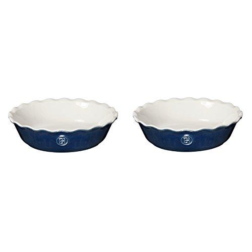 Emile Henry Twilight Ceramic 5.5 Inch Mini Pie Dish, Set of 2