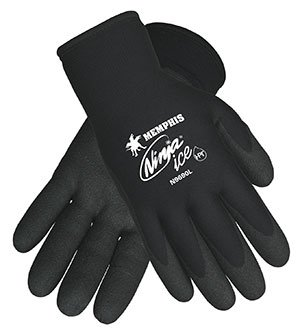Ninja Ice Proprietary HPT Coated Palm and Fingertips Gloves