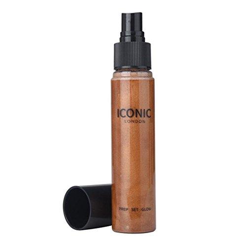 - Ourhomer Waterproof Lasting Liquid Makeup Smoky Eyeshadow Silky Bright Silk Bright Liquid Body Brightening Liquid (Coffee)