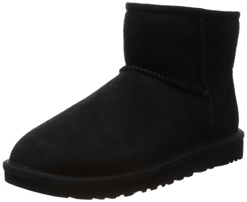 UGG Women's Classic Mini, Black, 5 B - Medium