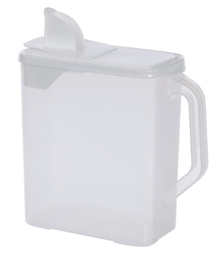 Buddeez 6-Quart Dispenser for Pet Food and Bird Seed