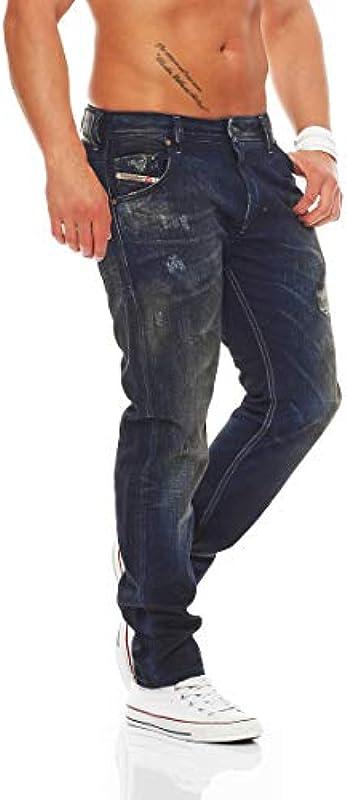 DIESEL Carrot dżinsy krayver Czarny: Odzież