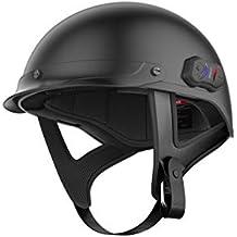 Sena CAVALRY-CL-MB-M Matt Black Medium Bluetooth (New-Open Box) (Renewed)