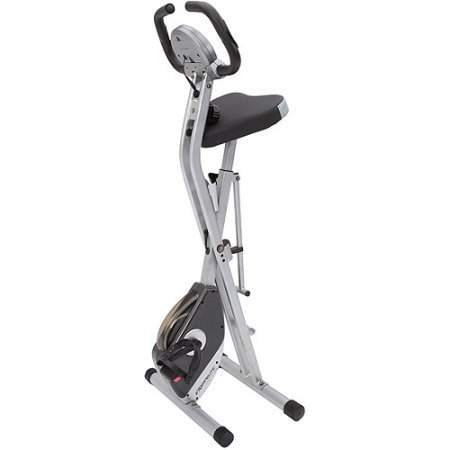 Upright Bike indoor Stationary Exercise Bicycle Cardio Heart Pulse Sensors Magnetic Tension Control Home Gym Training Fitness Workout Heart Pulse Monitoring Heart Rate Monitor Muscle Legs Weight Loss