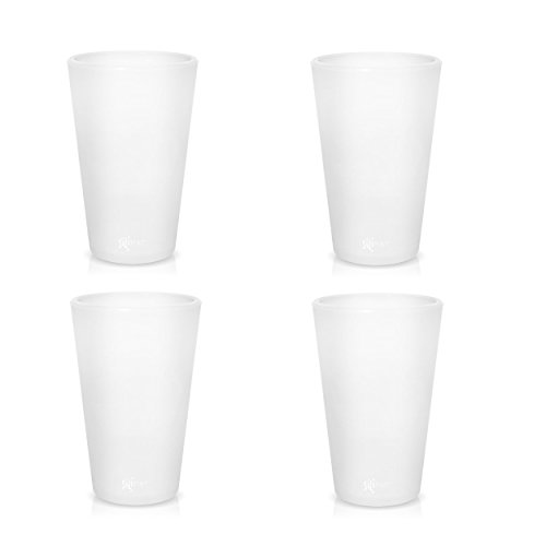 silicone-pint-glasses-patented-unbreakable-pint-glass-from-silipint-set-of-4-frosted-16oz