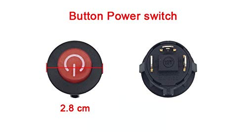- WEELYE Start Button Power Switch Accessories for Kids Electric Ride On Car Replacement Parts