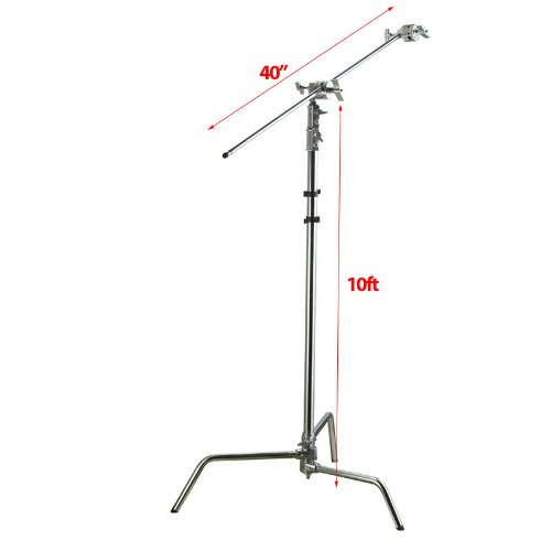 ePhoto 10ft Height Photography C Stand Video Studio for sale  Delivered anywhere in USA