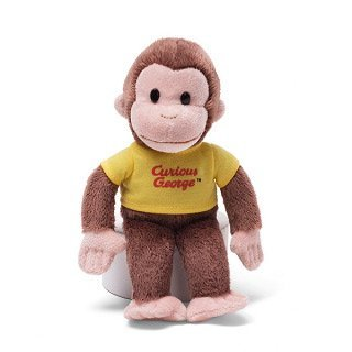 Classic Curious George in Yellow Shirt 8
