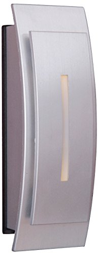 Craftmade TB1020-BN Contemporary Curved Lighted Touch Button, Brushed ()