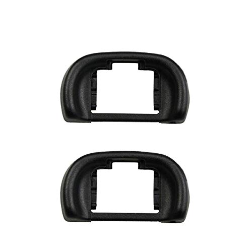 HomyWord 2 PCS Eyecup Viewfinder Eyepiece/Eye cup/Fits For Sony A7, A7 II,A7S, A7S II,A7R, A7R II, A58, A57, A65 Digital Cameras, Replace Sony FDA-11