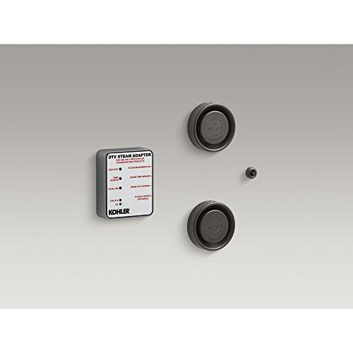 KOHLER 5549-K1-2BZ DTV+ Steam Adapter Kit, Oil-Rubbed Bronze ()