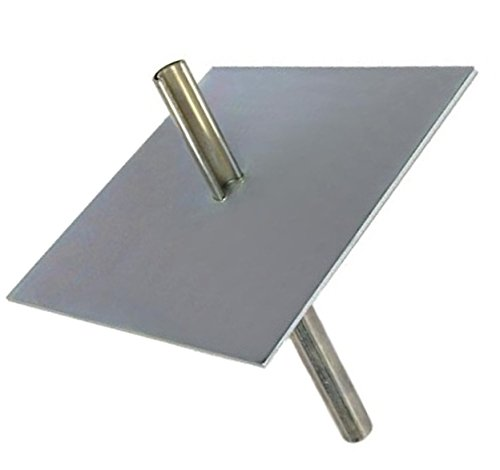 (EZ 32 Ground Mount with Stake for Telescopic / Push Up Masts - Mast Plate)