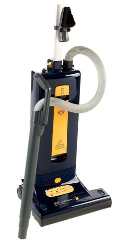 SEBO 9587AM Automatic X5 Upright Vacuum, Blue/Yellow - Corded