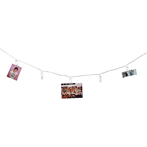 IREALIST String Lights Battery Powered Clothespins