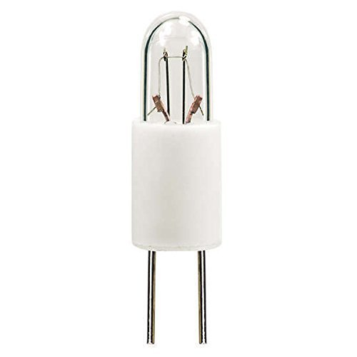 PLT - 7715 Mini Indicator Lamp - 5 Volt - 0.115 Amps - T1 Bulb - Bi-Pin Base - by Eiko (T1 Bi Pin)