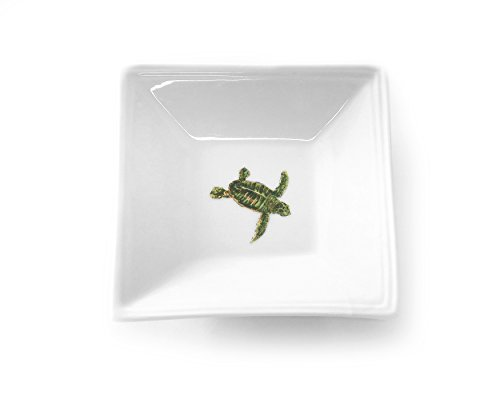 Kim Rody Creations Dinnerware Tidbit Dish First Trip, 5'' Square
