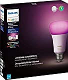 Philips Hue Phillips-HUE LED Lightbulbs 3-Bulb Starter Kit All Colrs in Rainbow & White 4 Pound