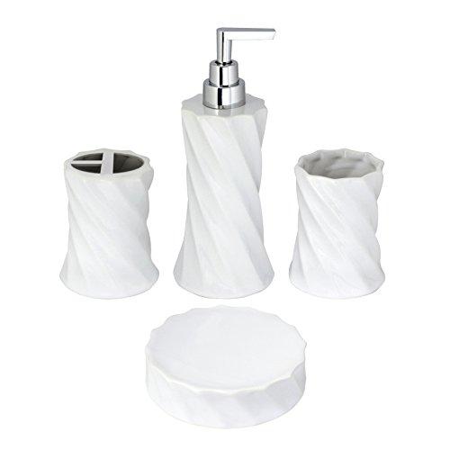 White Bathroom Set - 8