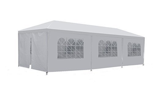 ZENY Wedding Party Tent Outdoor Camping 10'x30' Easy Set Gazebo BBQ Pavilion Canopy Cater Events (10'x30') by ZENY