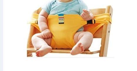 El asiento de bebé lavable de alta silla de viaje portátil Booster ...