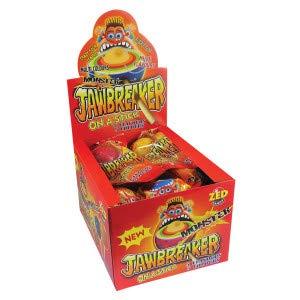 (Zed Candy Monster Jawbreaker On Stick (Pack of 18))